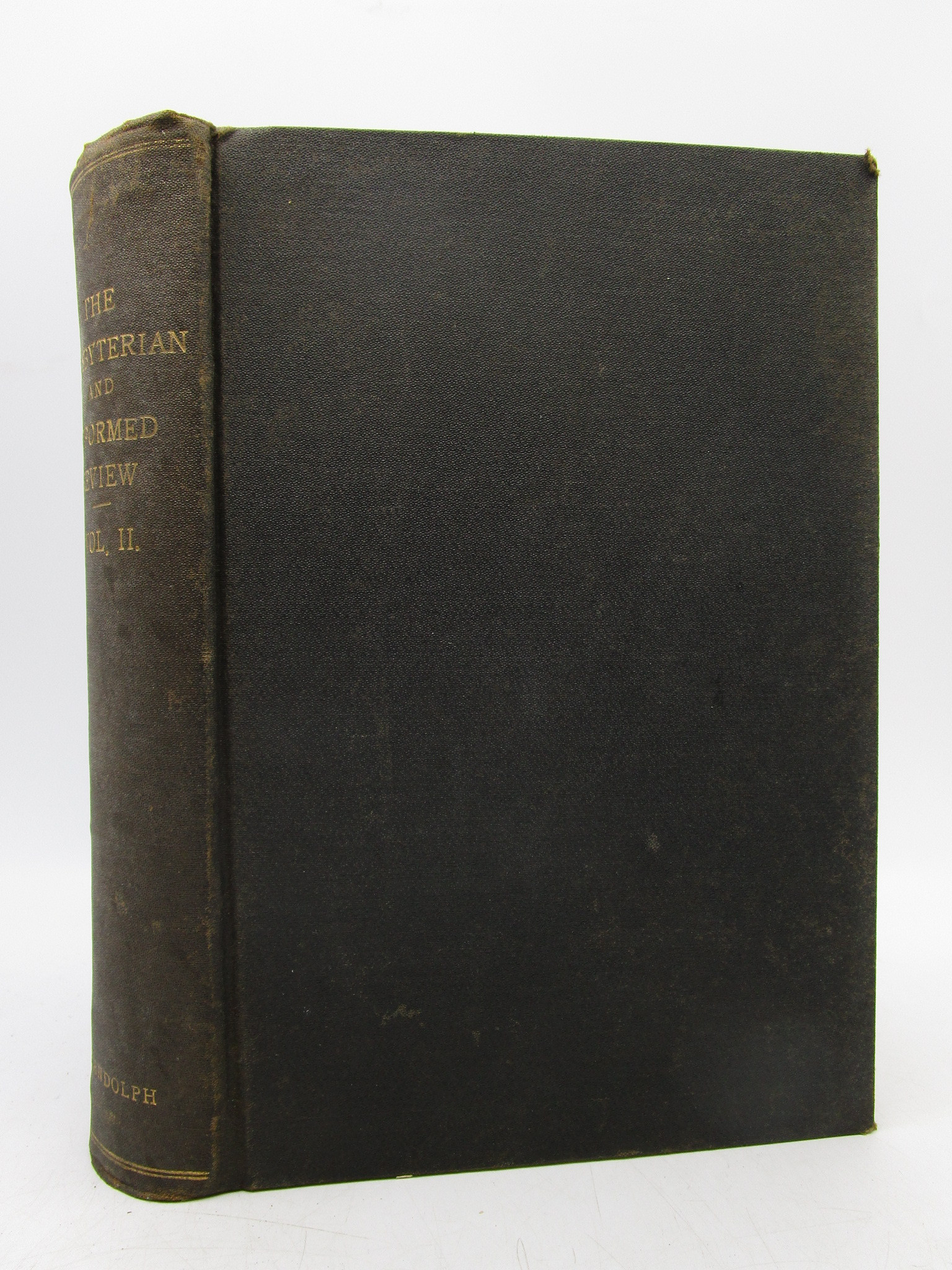 Image for The Presbyterian and Reformed Review (Volume II, 1891) First Edition [From the Library of Morton H. Smith]