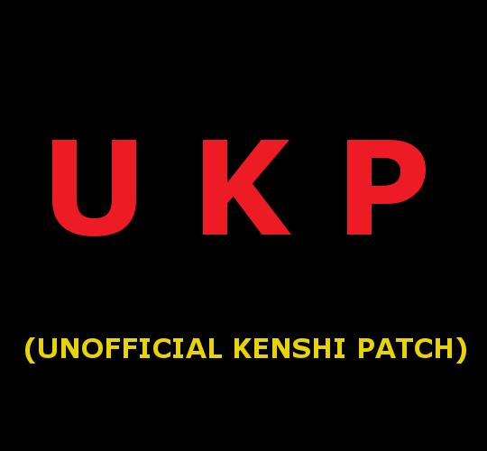 Unofficial Kenshi Patch / Неофициальный патч для Кенши