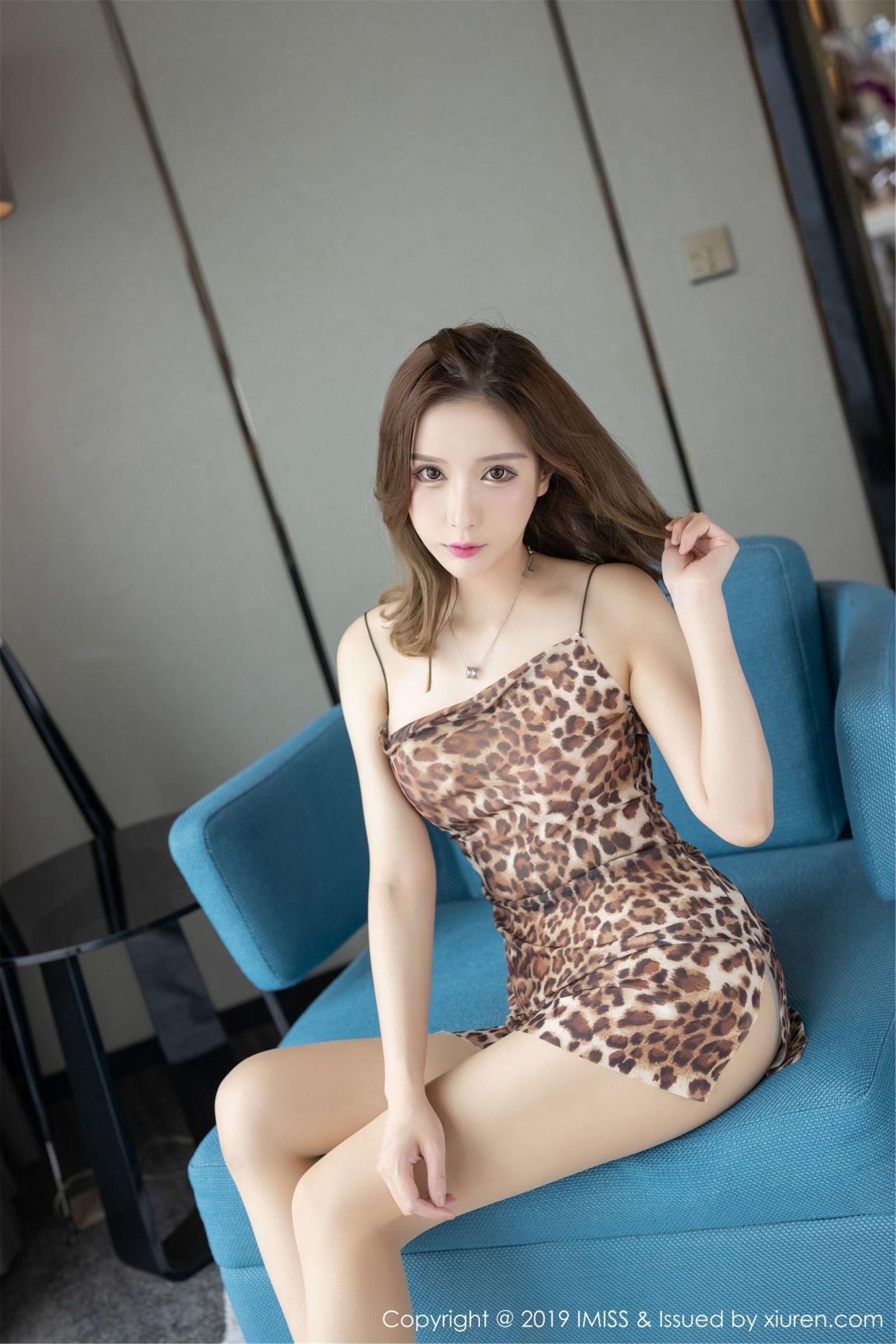 [IMiss爱蜜社] Vol.342 甜美模特@小琳丝袜美腿写真