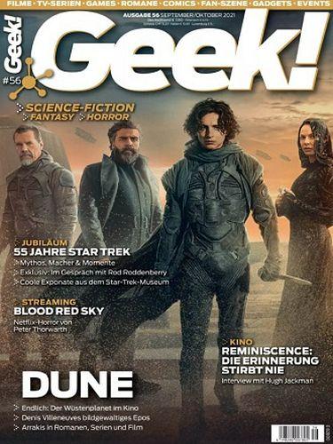 Cover: Geek! Magazin September-Oktober No 56 2021