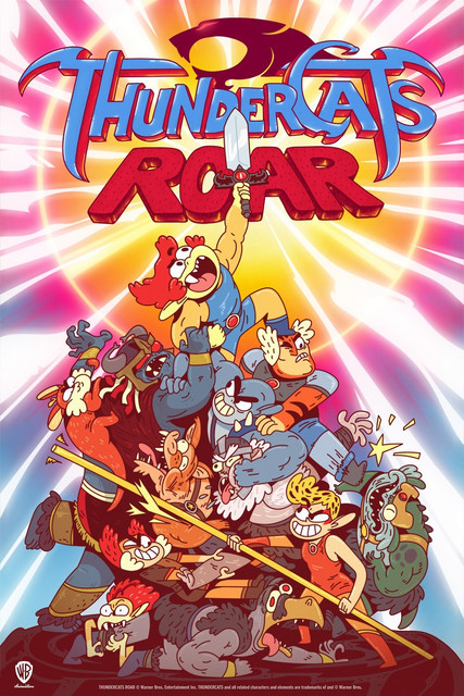 Thunder-Cats-Roar-Estreia-Cartoon-Cartoon-Brasil-Poster