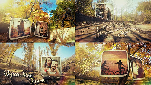 Autumn Love Story Slideshow 25183556 - Project for After Effects (Videohive)