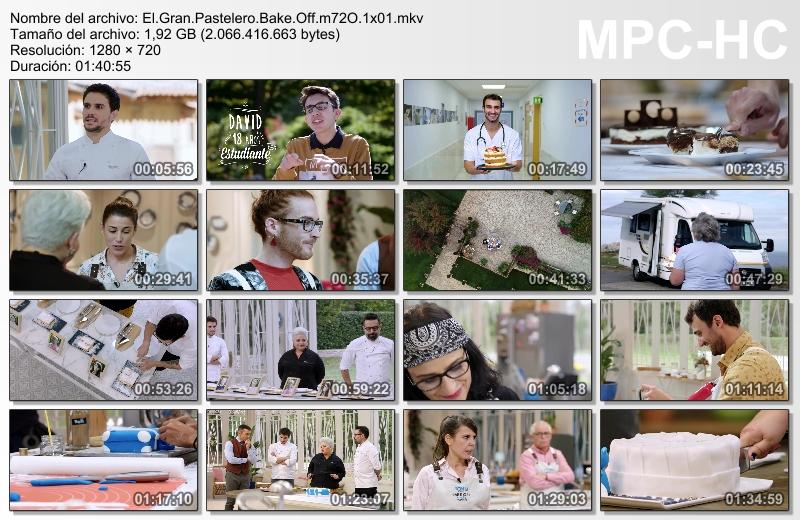 elgrcap - El Gran Pastelero: Bake Off España (2019)[T.1][HDTV 720p][Castellano][Talent Show][03/--][VS]