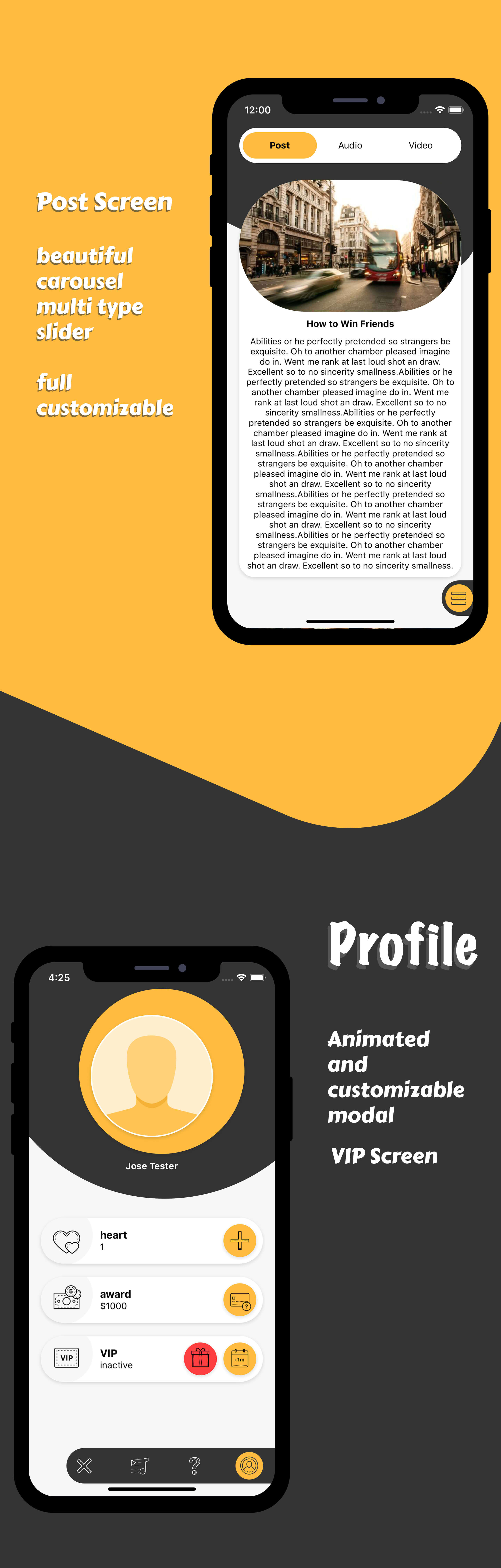 Multimedia and quiz android app