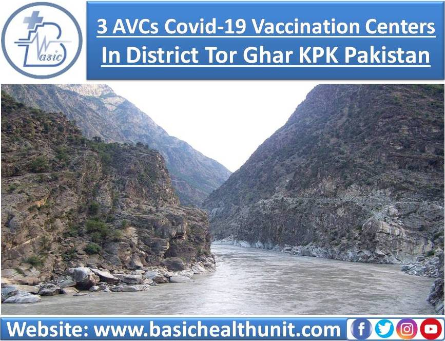 3 AVCs Covid-19 Vaccination Centers In District Tor Ghar KPK Pakistan