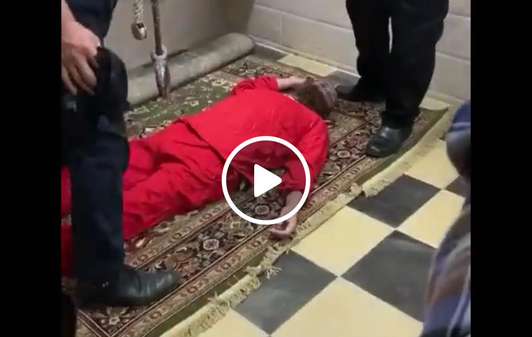 لحظة تنفيذ حكم الإعدام فى الإرهابي هشام عشماوى