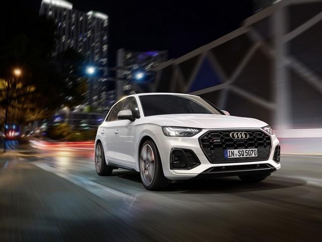 Sportivité, puissance et efficience : Audi présente la nouvelle génération de la SQ5 TDI A208361-medium