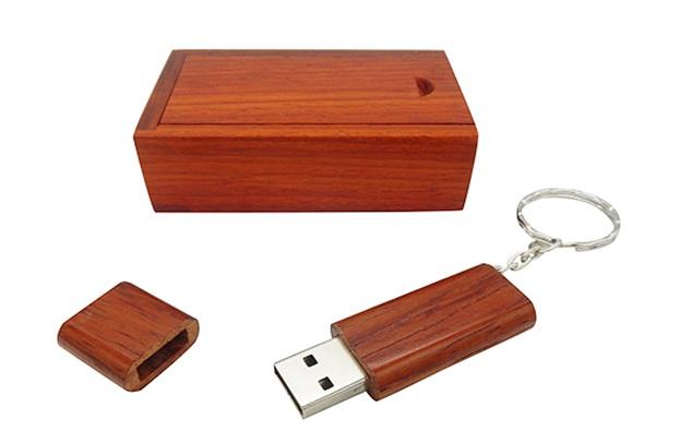 Description: Wood USB Flash Drive UW-16 - sinomemory