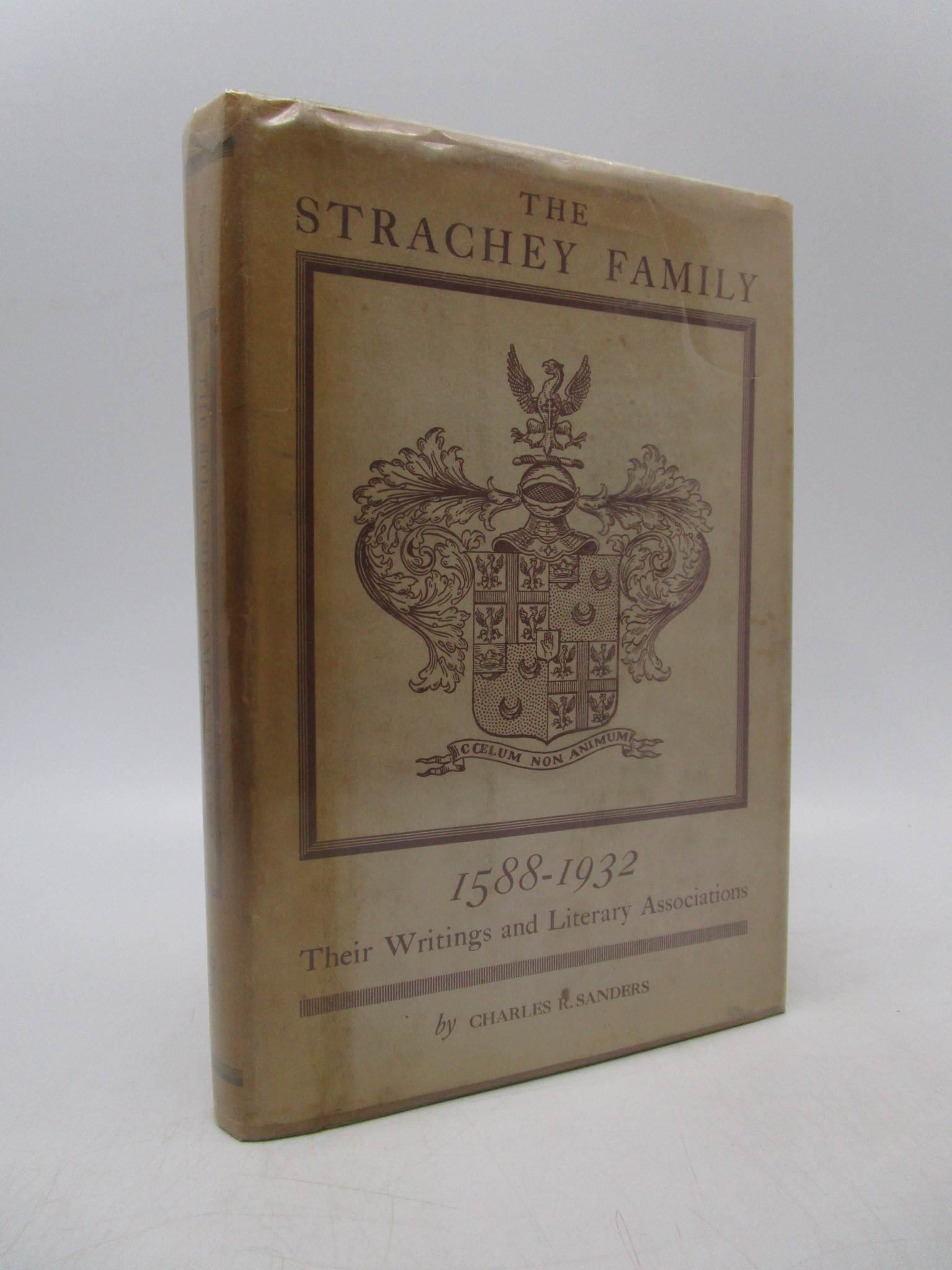 Image for The Strachey Family 1588-1932: Their Writigns and Literary Associations (First Edition)