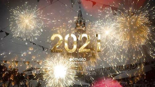 2021 New Year Gold Countdown 25062249 - Project for After Effects (Videohive)