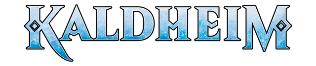 Kaldheim Title Logo