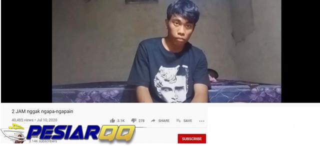 2 Jam Tak Melakukan Apa-apa, Konten YouTube Ini Bikin Warganet Geli