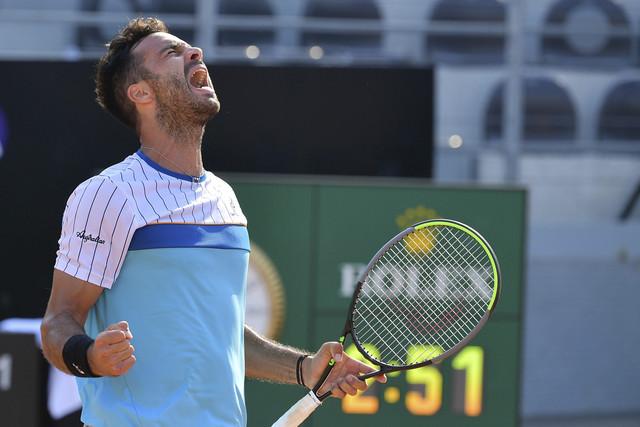 Foto-Alfredo-Falcone-La-Presse15-09-2020-Roma-Italia-Sport-Tennis-Salvatore-Caruso-i-ITA-vs-Tennys-S