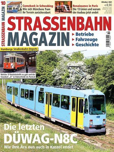 Cover: Strassenbahn Magazin No 10 Oktober 2021