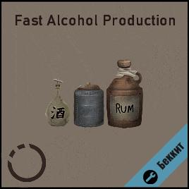 Fast Alcohol production / Быстрое Производство Алкоголя