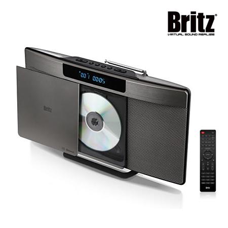 [코드번호:CN0076][itz] 브리츠 CD플레이어 벽걸이가능 블루투스 오디오_Z-T6530