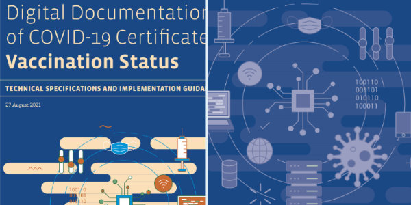 """WHO publishes a """"guidance document"""" for countries to implement a digital vaccine certificate system for Covid and """"Other Diseases""""…"""