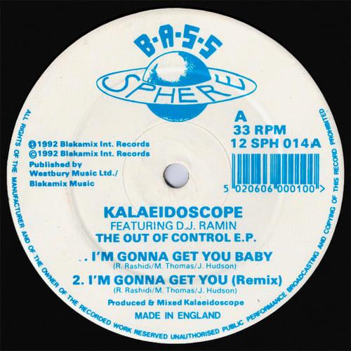 Download Kalaeidoscope Feat. DJ Ramin - The Out Of Control E.P. mp3
