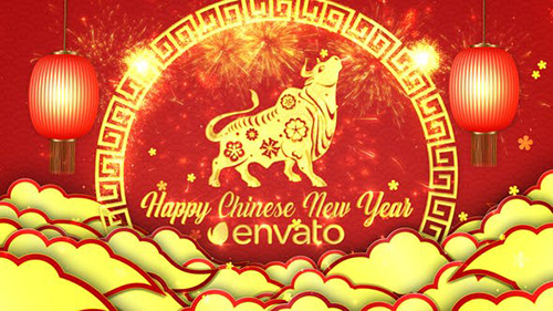 Chinese New Year Greetings 29997448 - Project for After Effects (Videohive)