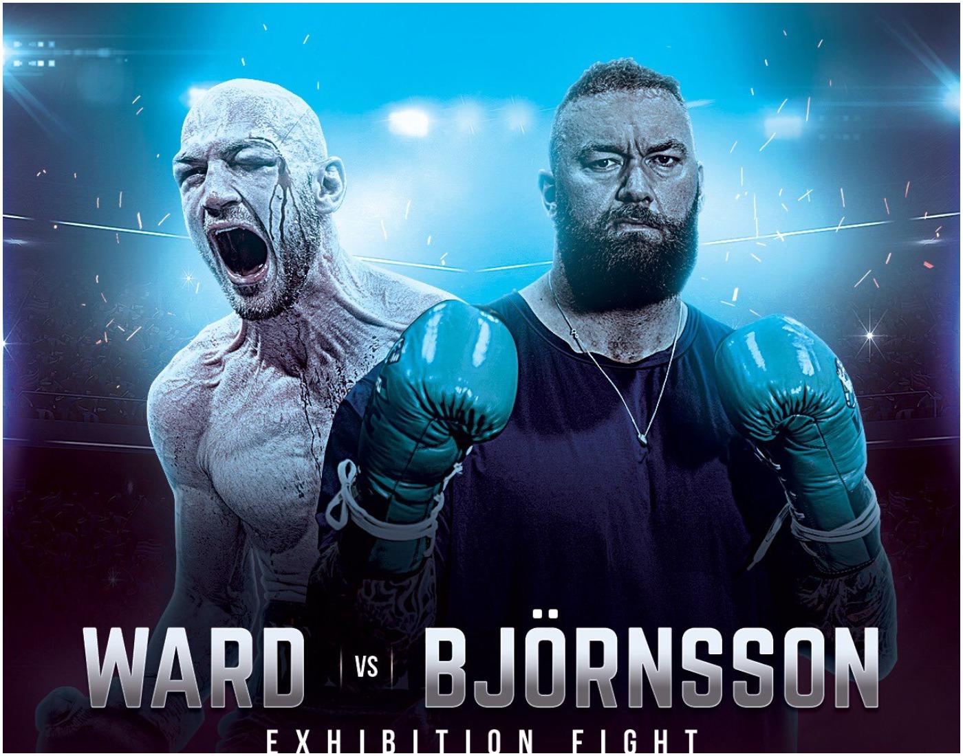 Хафтор Бьорнсон дебютира в бокса срещу Стивън Уорд