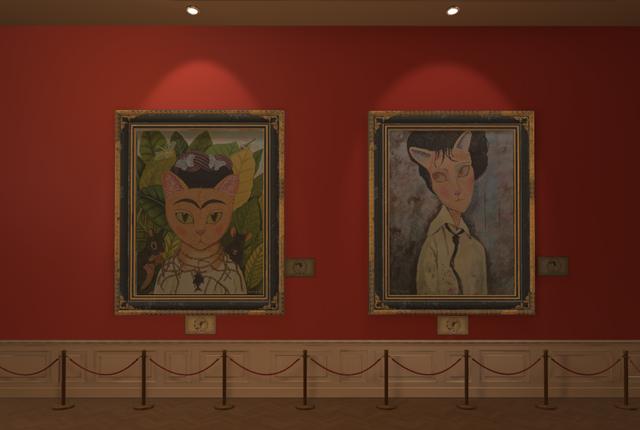 《Step into Cat Art 走進喵次元》正式售票! 9/17一起進入喵畫饗宴  一次盡享四種主題視聽饗宴   古希臘羅馬建築、文藝復興建築與日式和風等觀展空間等你體驗   3-3