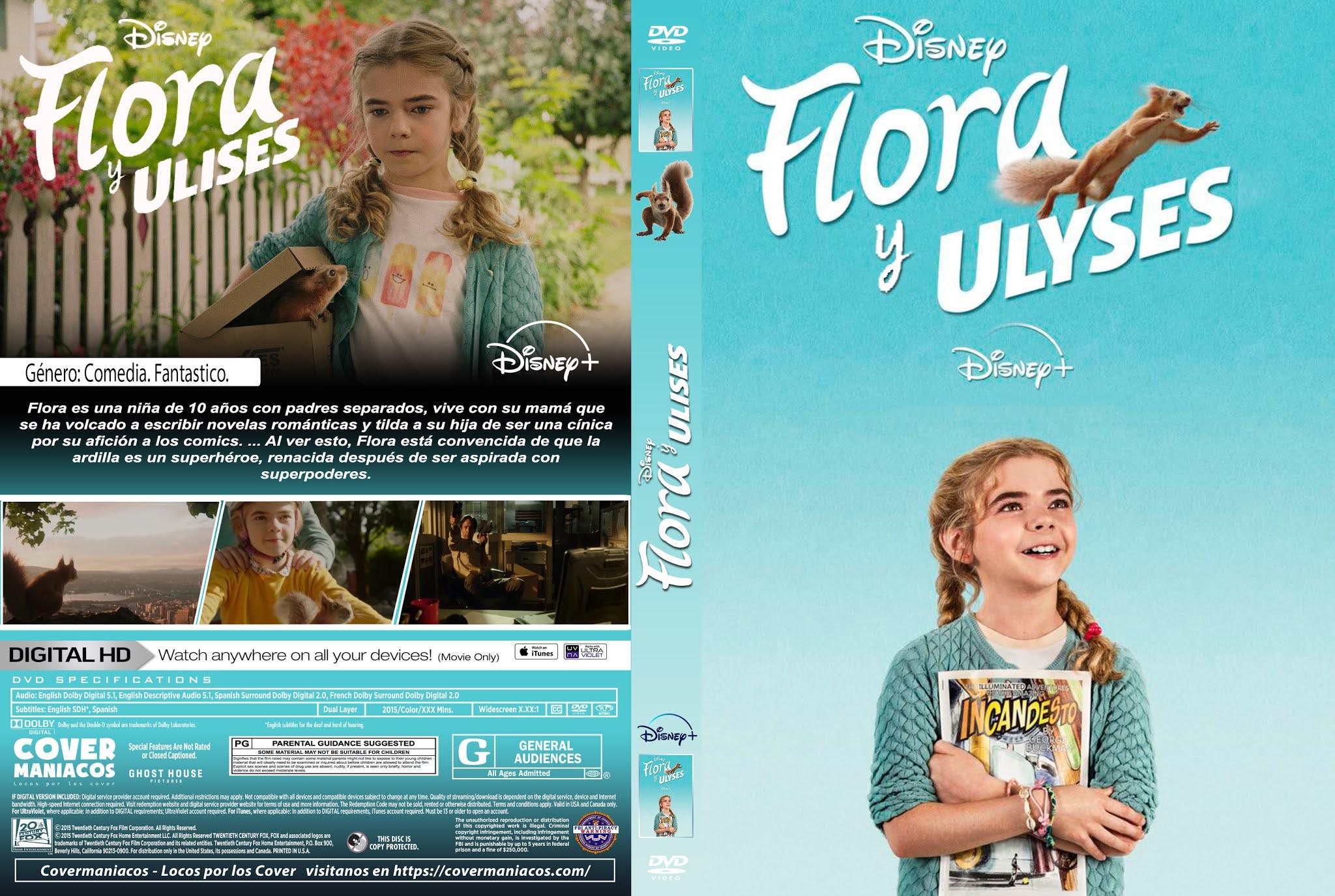 [Estreno]Flora y Ulises|2021|WEBRip|720p|Latino