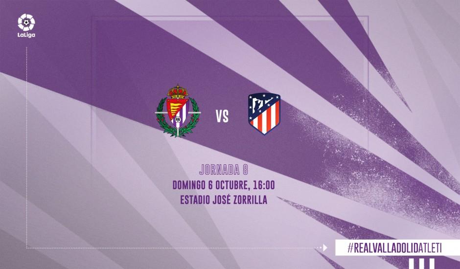 Real Valladolid C.F. - Club Atlético de Madrid. Domingo 6 de Octubre. 16:00 RVD-ATM