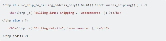 """自定义WooCommerce结帐页面的""""结算明细""""文本"""