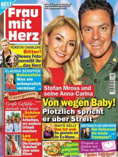 Cover: Frau mit Herz Frauenmagazin No 38 vom 18  September 2021