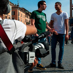 student of the BA in Film - a unique US program in Rome