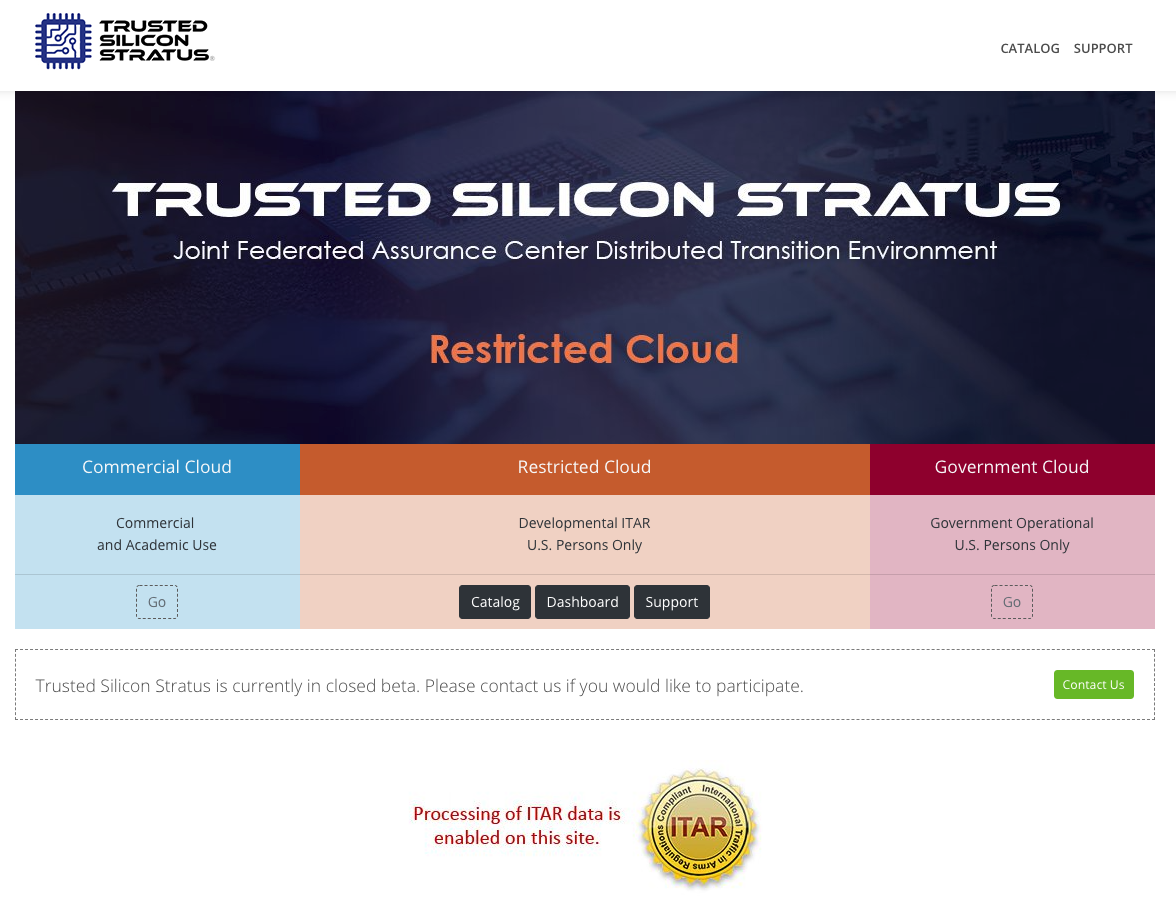 This is Trusted Silicon Stratus