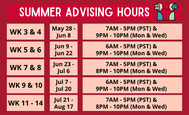 202102-Advising-Hours-Poster