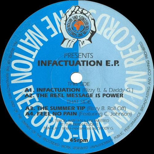 Bizzy B - Infactuation E.P. 1993