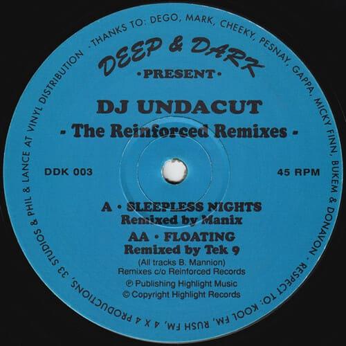 Download DJ Undacut - The Reinforced Remixes mp3