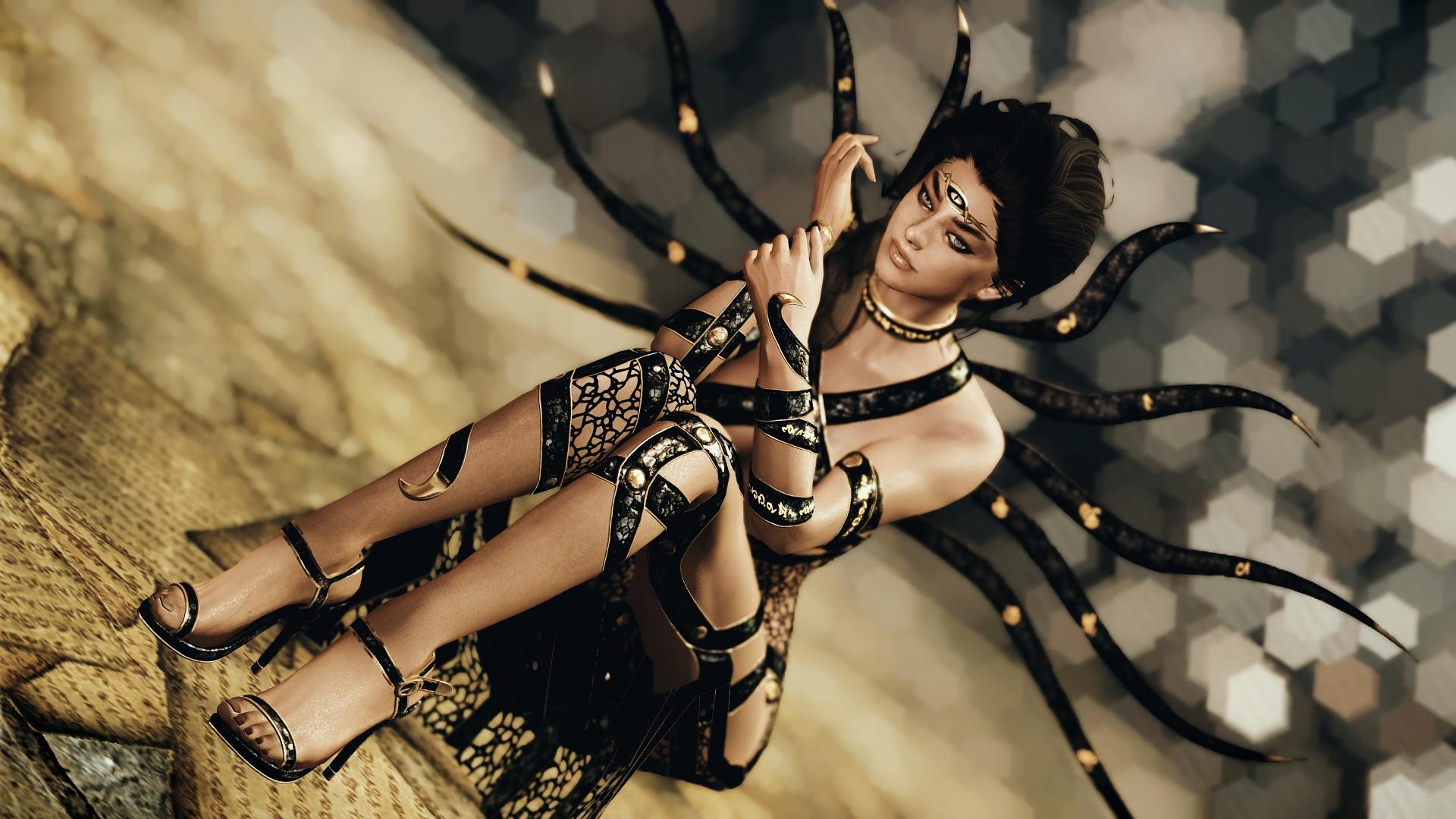 Скачать Кассандра - одеяние Апокрифа от DeserterX (SE) / DX Cassandra Apocrypha Robes