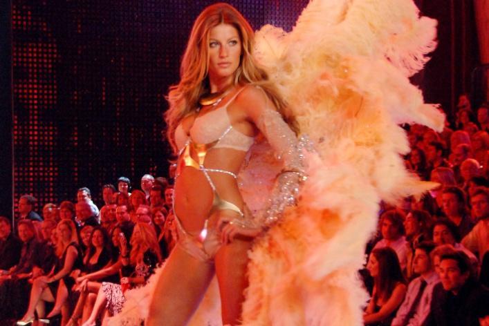 Знаменитые «ангелы» Victoria's Secret