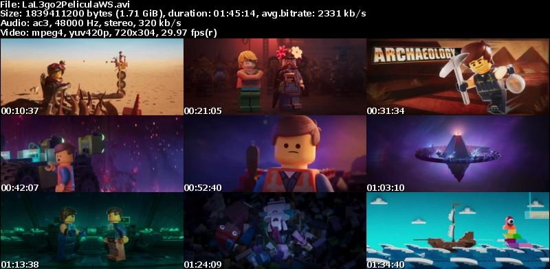 La LEGO Película 2 (2019)[WEB-Screener][Castellano MiC][Animación][VS]