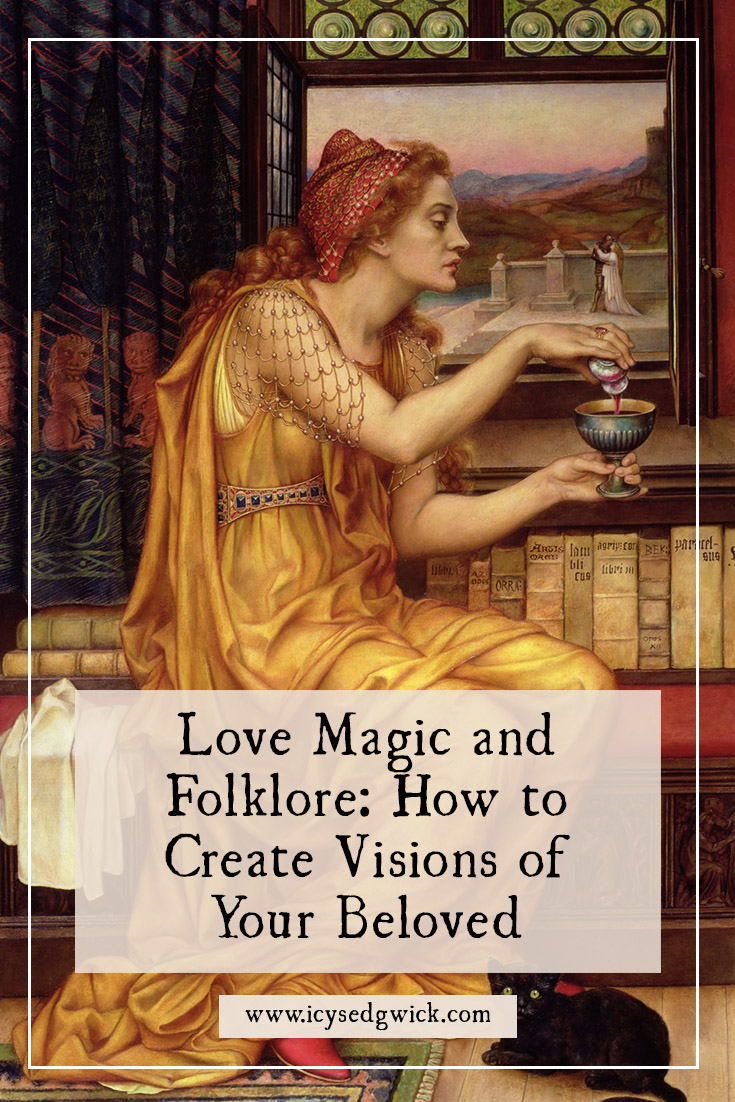 Love magic offers perhaps one of the most popular types of ritual. Find out about the charms and divination people used to find love.