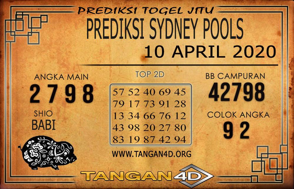 PREDIKSI TOGEL SYDNEY TANGAN4D 10 APRIL 2020
