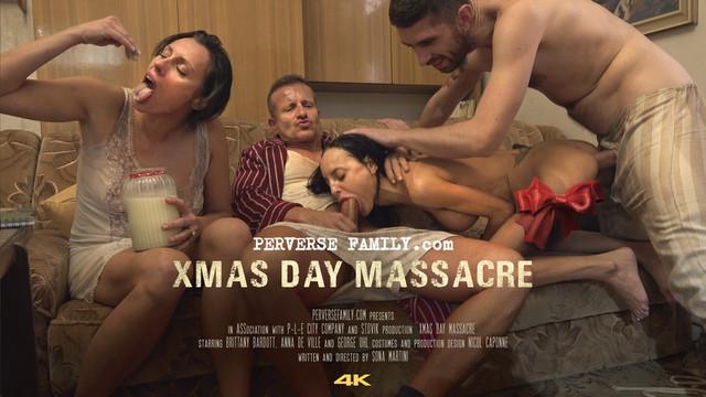 クリスマスの日の虐殺