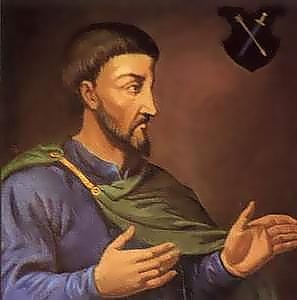 Дем'ян Многогрішний, гетьман Лівобережної України (зображення XVII ст.).