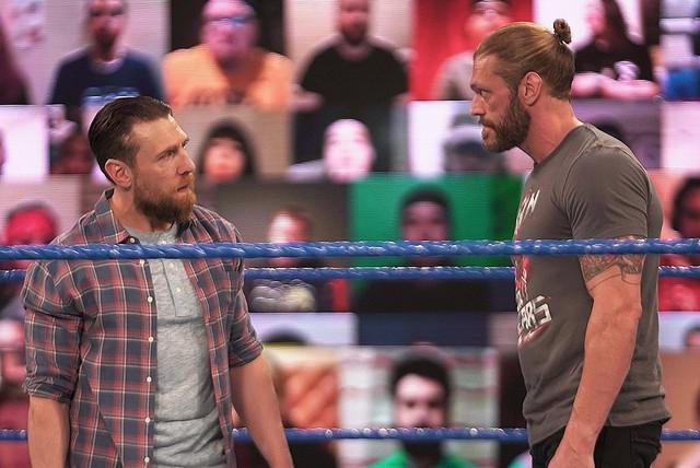 Edge y Daniel Bryan SmackDown 12 Marzo