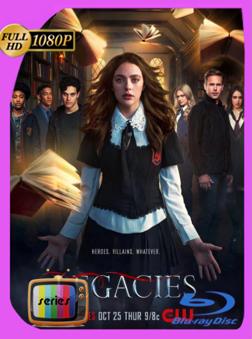 Legacies (2018) Temporada 1 y 2 NF WEB-DL [1080p] Latino [GoogleDrive] [zgnrips]