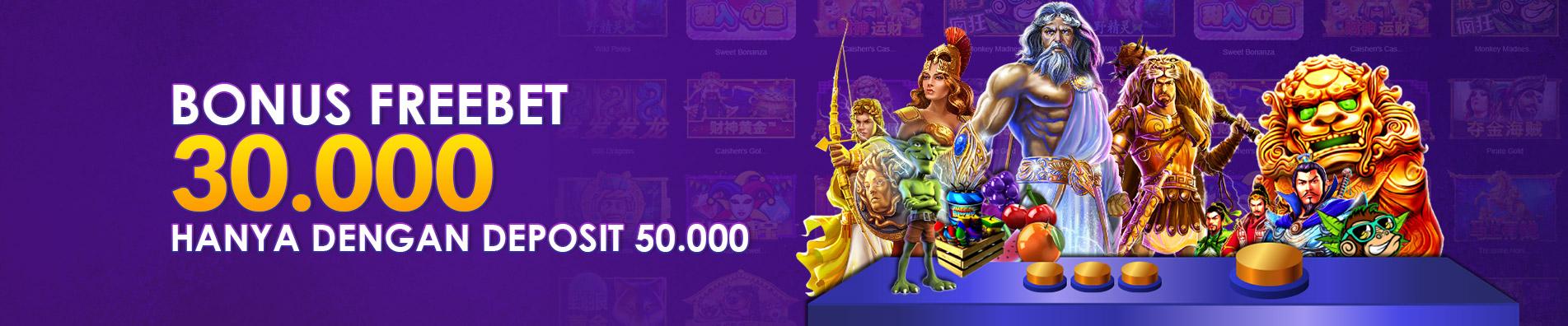 PROMO FREEBET Rp 30.000