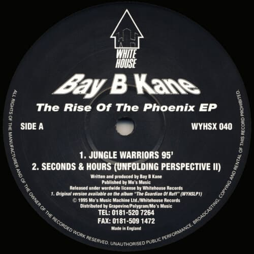 Download Bay B Kane - The Rise Of The Phoenix EP mp3