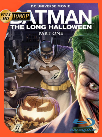 Batman: The Long Halloween, Part One (2021) BDRip [1080p] Latino [GoogleDrive]