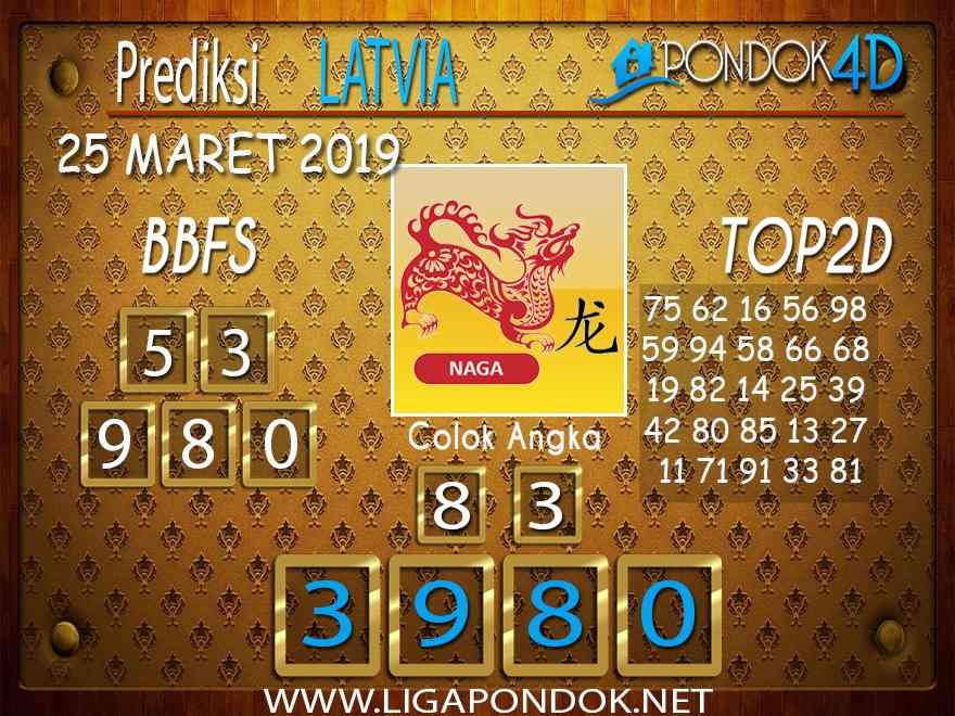 Prediksi Togel LATVIA PONDOK4D 25 MARET 2019