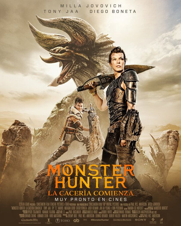 Monster Hunter (2020) Hindi Dubbed Movie 720p HDRip AAC