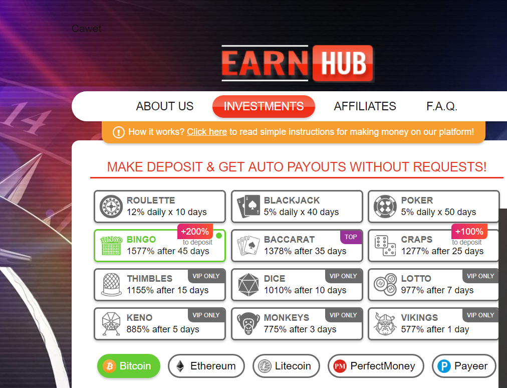 Earnhub.io Review – SCAM or PAYING?
