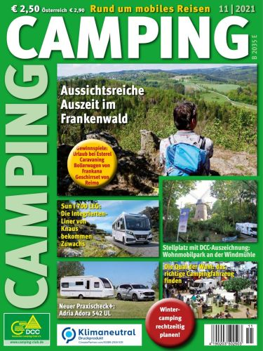Camping Magazin No 11 November 2021